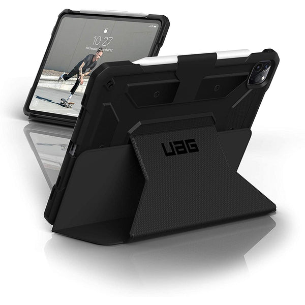 ipad pro 12.9inch 4 gen rugged folio case from uag australia. buy online at syntricate and get free shipping australia wide