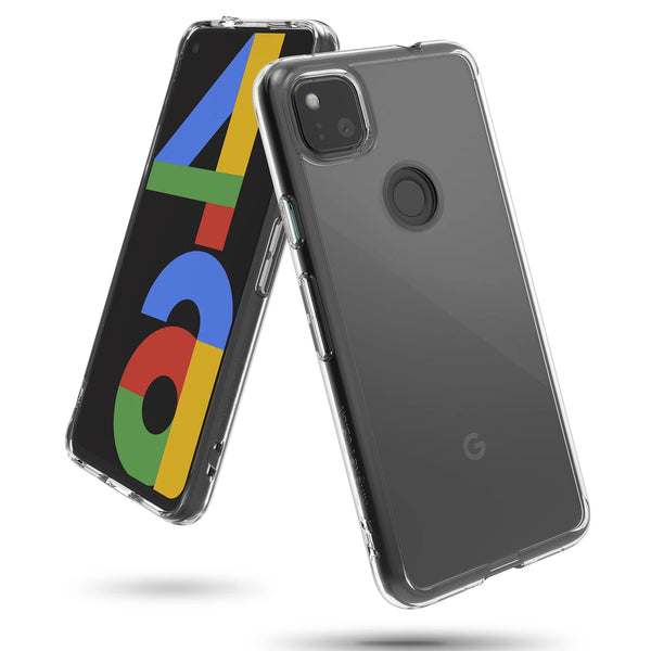 buy online with free express shipping google pixel 4a rugged case clear cover