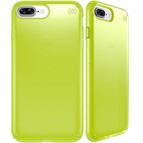 half off 59c6d fd600 SPECK PRESIDIO CLEAR NEON CASE FOR iPHONE 8 PLUS/7 PLUS -LIGHTNING YELLOW