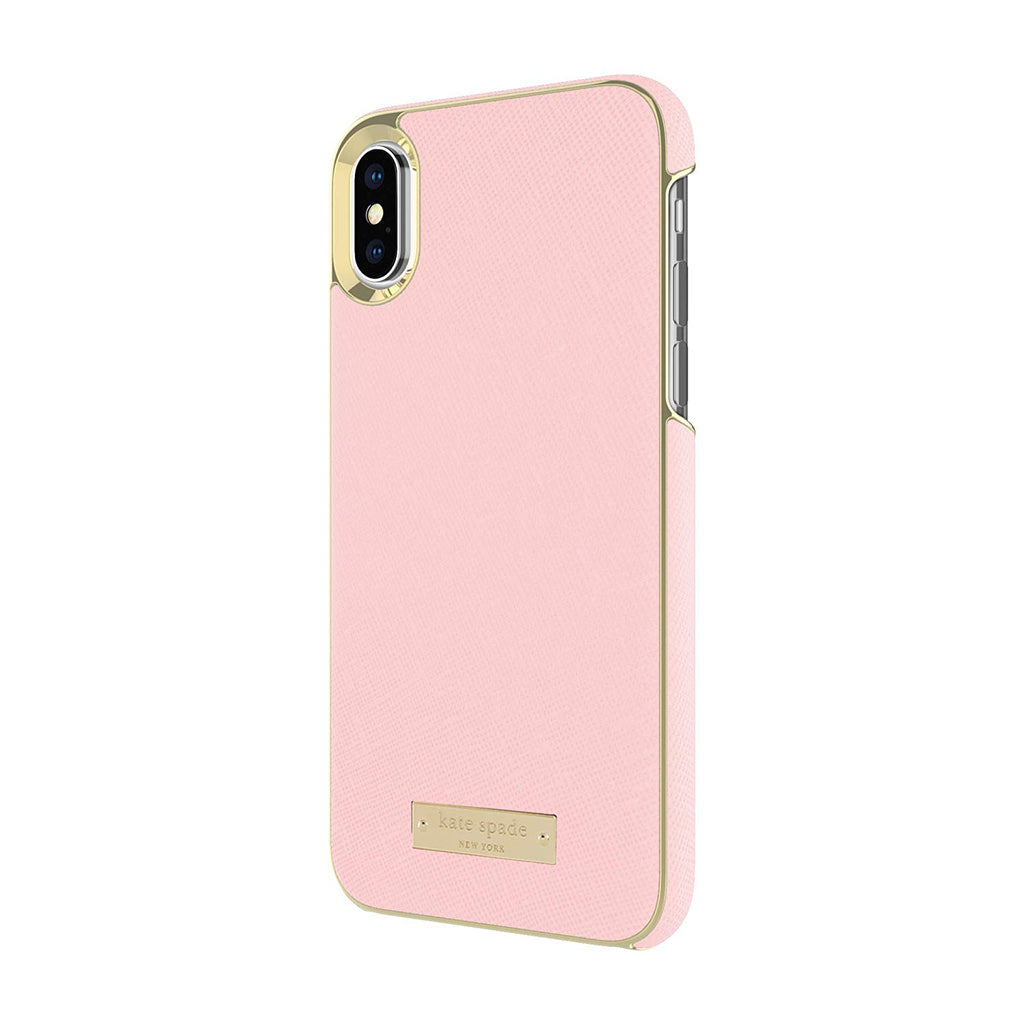 Shop Australia stock KATE SPADE NEW YORK WRAP CASE FOR IPHONE XS/X - SAFFIANO ROSE QUARTZ with free shipping online. Shop Kate Spade New York collections with afterpay Australia Stock