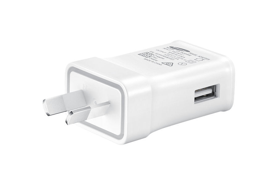 Shop Australia stock Samsung Micro USB 9V Fast Charge Travel Charger - White with free shipping online. Shop Samsung collections with afterpay Australia Stock