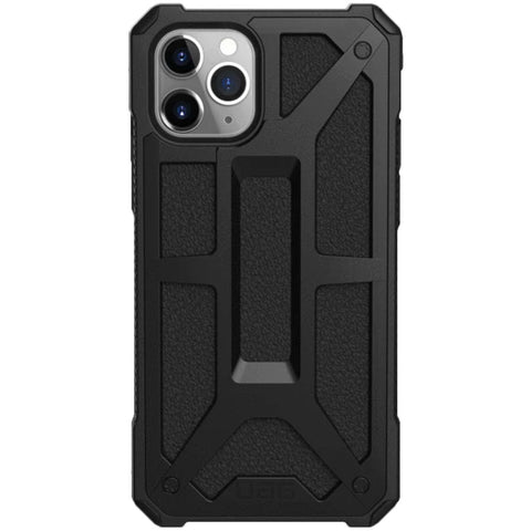 "Shop Australia stock UAG Monarch Handcrafted Rugged Case for iPhone 11 Pro (5.8"") - Black Leather with free shipping online. Shop UAG collections with afterpay"