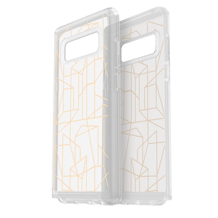 buy otterbox symmetry clear graphics slim case for galaxy note 8 drop me a line australia Australia Stock