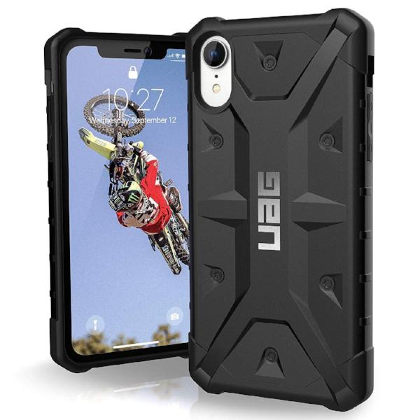 Get the latest stock PATHFINDER RUGGED ARMOR SHELL CASE FOR IPHONE XR - BLACK FROM UAG with free shipping online.
