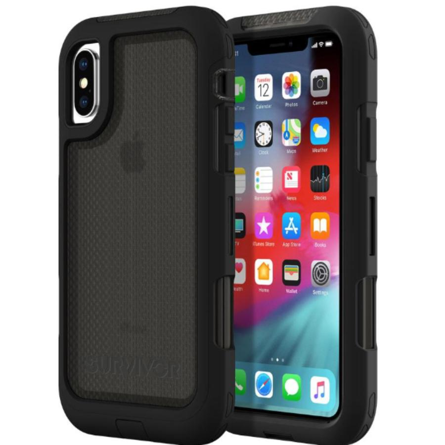buy online griffin survivor black case for iphone xs max Australia Stock