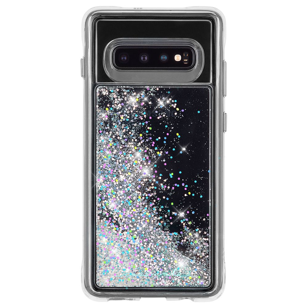 new flexible silver glitter case for new Samsung Galaxy S10 plus with free shipping from casemate australia Australia Stock