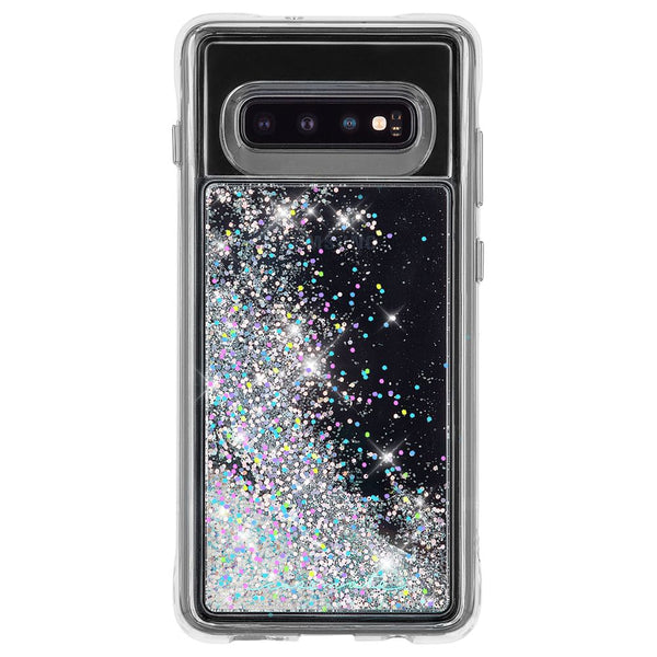 new flexible silver glitter case for new Samsung Galaxy S10 plus with free shipping from casemate australia