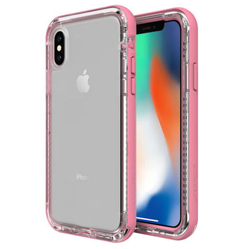 rugged case for iphone xs max pink clear
