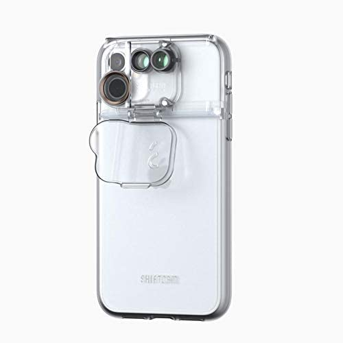Place to buy online iPhone 11 (6.1) 3-in-1 MultiLens Case From SHIFTCAM - Clear with free shipping Australia wide