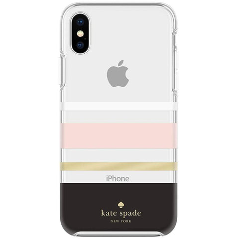 Place to buy PROTECTIVE HARDSHELL CASE FOR IPHONE XS MAX - CHARLOTTE STRIPE FROM KATE SPADE NEW YORK online in Australia free shipping & afterpay.