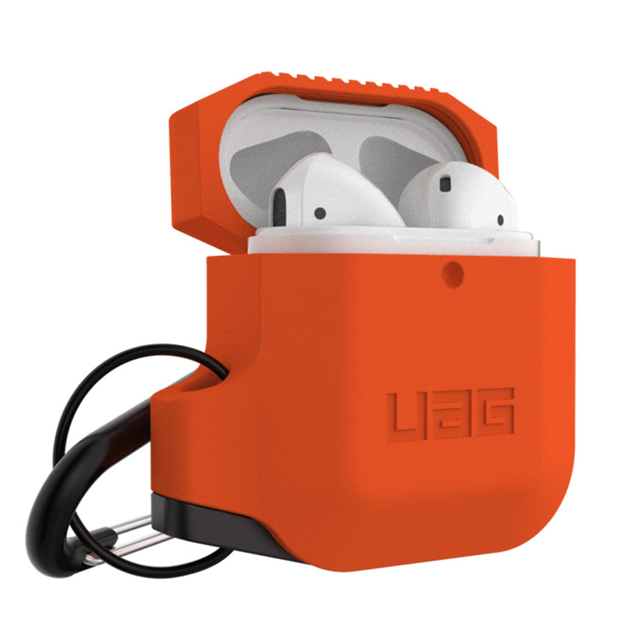 UAG Silicone Case For Apple Airpods  - Orange/Grey Australia Stock