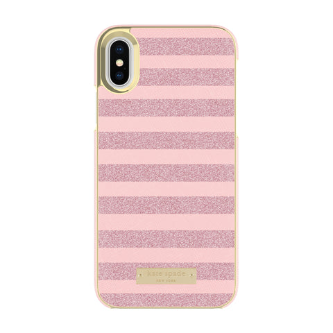 Kate Spade New York Wrap Case For Iphone X Rose Gold