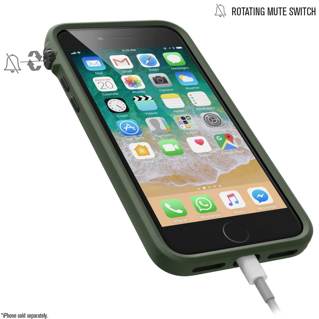 CATALYST IMPACT PROTECTION CASE FOR IPHONE 8 PLUS/7 PLUS - ARMY GREEN Australia Stock