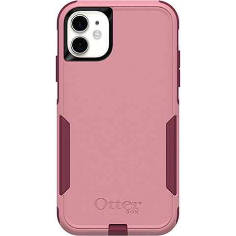 iphone 11 pink case back view otterbox dual tone color with drop proof protection