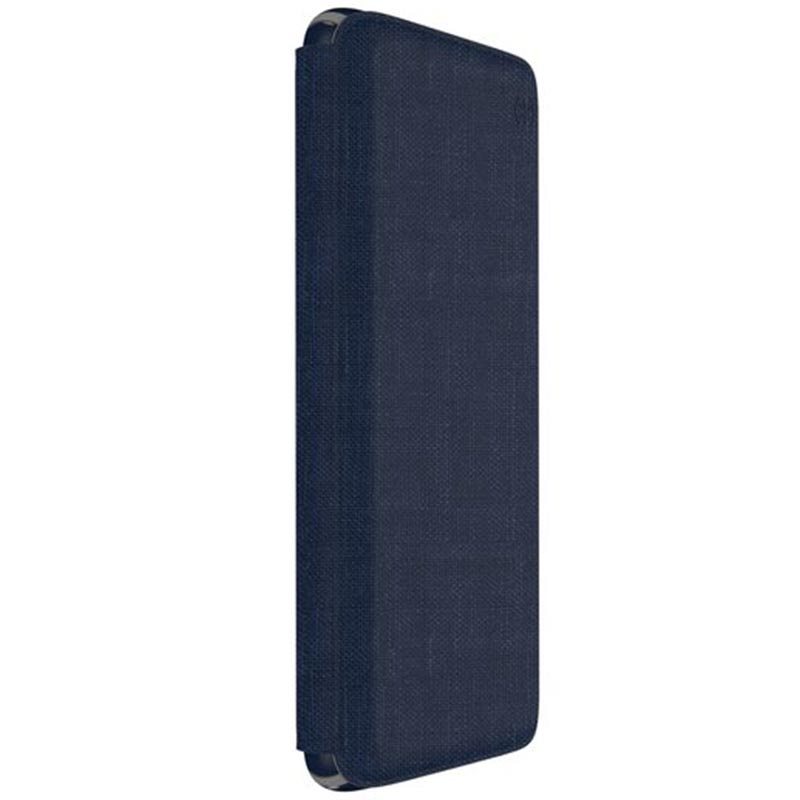 Speck Presidio Impactium Folio Case For Samsung Galaxy S9 Heathered Blue/grey Australia Stock