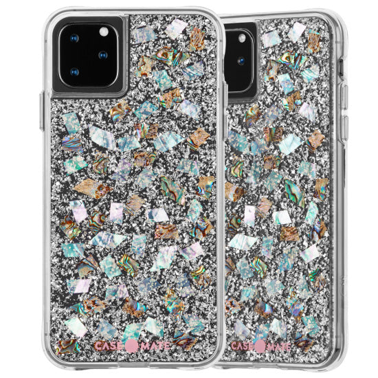 iphone 11 pro casemate pearl stone design. Enhance your phone with authentic fancy design