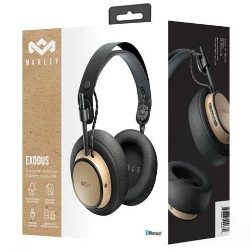 Shop Australia stock HOUSE OF MARLEY EXODUS OVER EAR BLUETOOTH WIRELESS HEADPHONES - BLACK with free shipping online. Shop House of Marley collections with afterpay Australia Stock