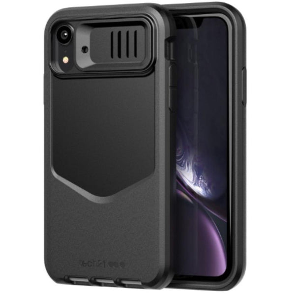 buy flexshshock case black colour for iphone xr australia. evo max rugged from tech21.