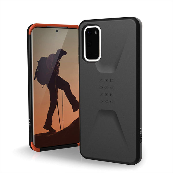 "Shop Australia stock UAG Civilian HoneyComb Core Case For Galaxy S20 (6.2"") - Black with free shipping online. Shop UAG collections with afterpay"