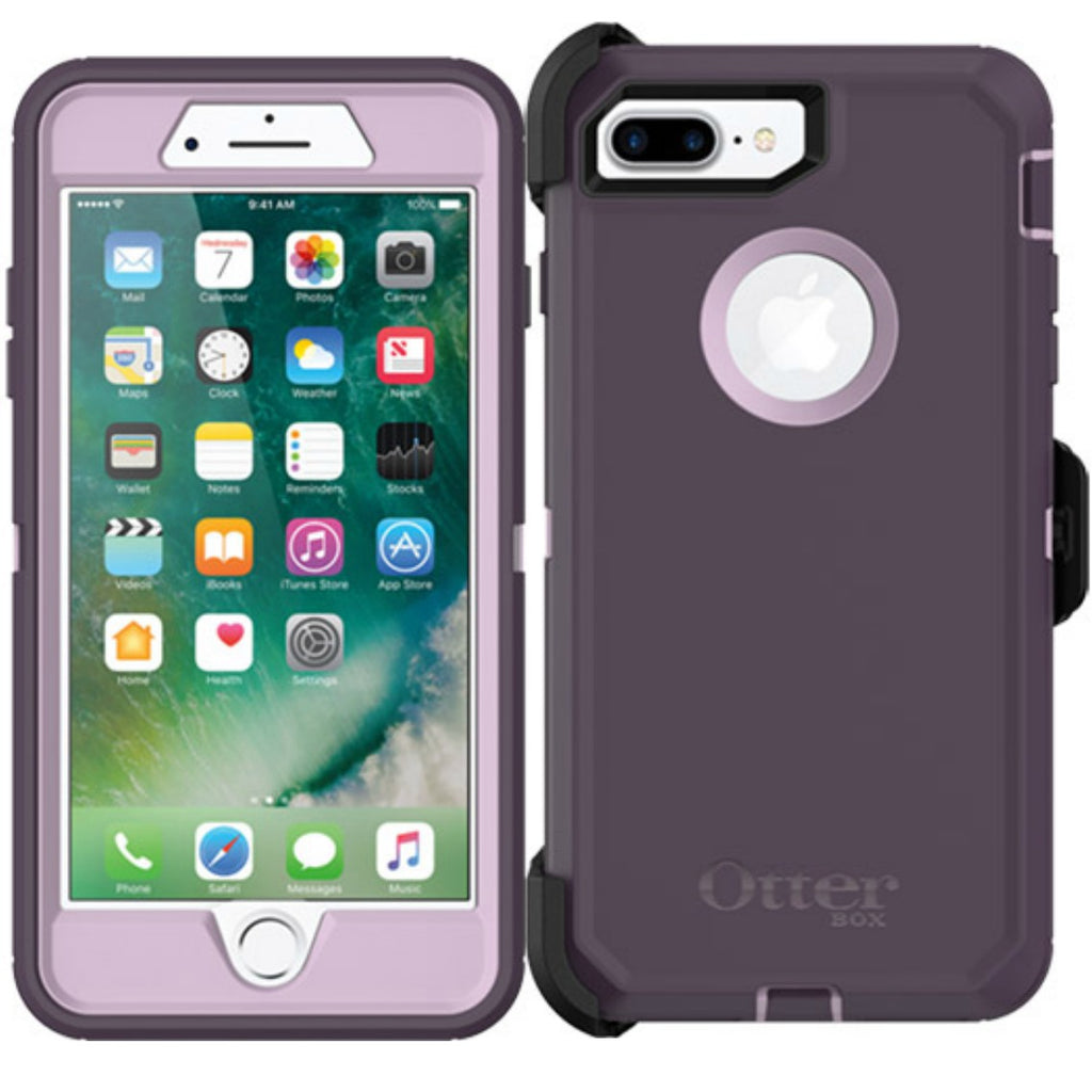 store to buy Otterbox Defender Rugged Case for iPhone 8 Plus/7 plus - Purple Nebula free shipping australia wide Australia Stock