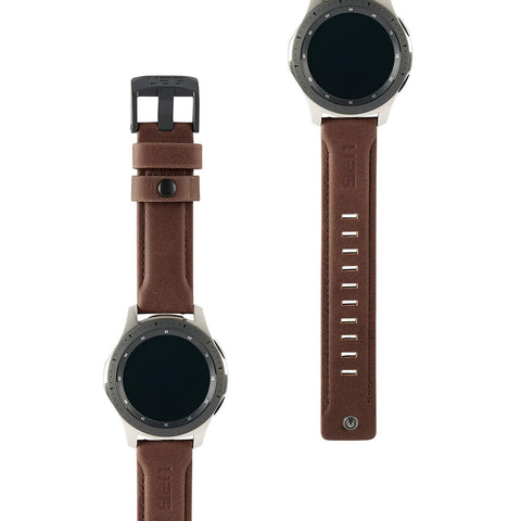 Shop Australia stock UAG Leather Watch Strap For Galaxy Watch Band 46mm/Gear S3 Frontier & Classic - Brown with free shipping online. Shop Syntricate collections with afterpay