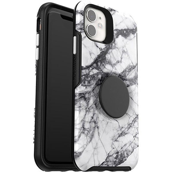 marble design case iphone 11 from otterbox australia, great white pattern