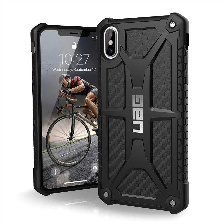 best service d8a78 5f165 UAG MONARCH HANDCRAFTED RUGGED CASE FOR IPHONE XS/X - CARBON FIBER