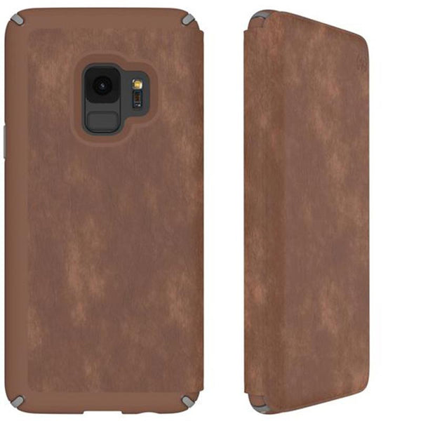 Shop Australia stock SPECK PRESIDIO IMPACTIUM LEATHER FOLIO CASE FOR GALAXY S9 - SADDLE BROWN with free shipping online. Shop Speck collections with afterpay