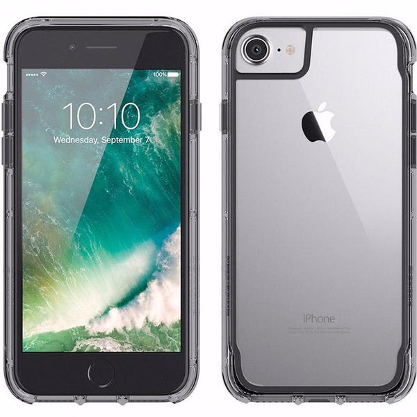 authorize distributor to shop Griffin Survivor Clear Case for iPhone 8/7/6S - Black/Smoke from official store. Free express shipping Australia wide.