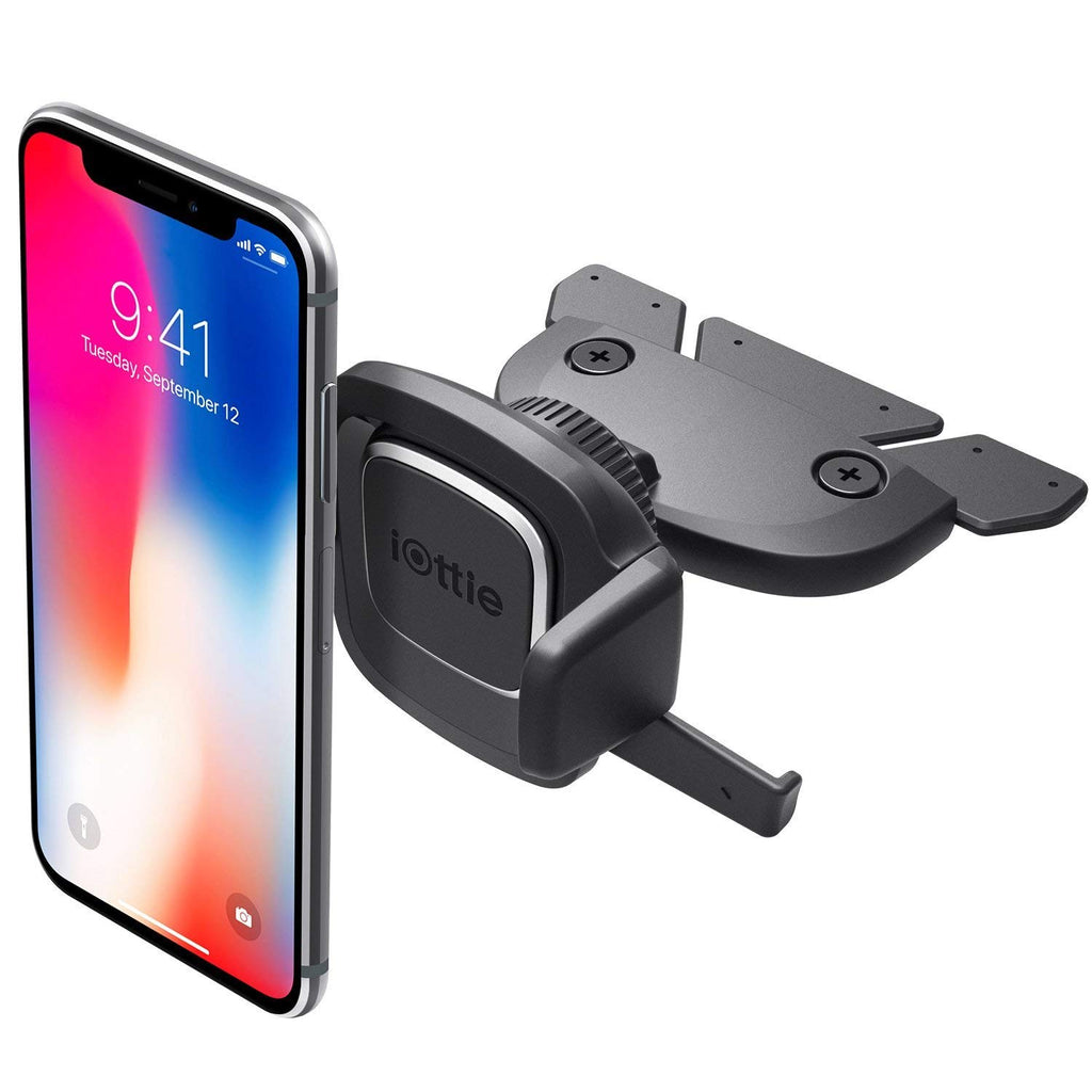 iOTTIE EASY ONE TOUCH 4 UNIVERSAL CD SLOT MOUNT CAR MOUNT HOLDER CRADLE Australia Stock