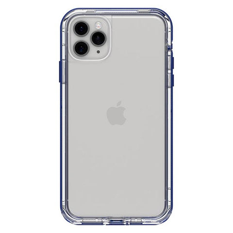 back view iphone 11 pro case blue bumper design from lifeproof australia
