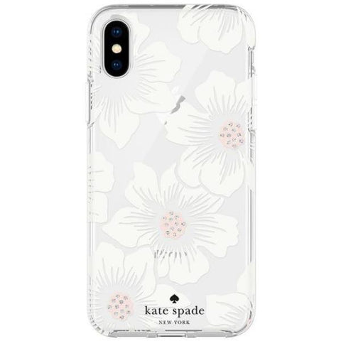 Get the latest stock PROTECTIVE HARDSHELL CASE FOR IPHONE XS MAX - HOLLYHOCK FLORAL FROM KATE SPADE NEW YORK free shipping & afterpay.