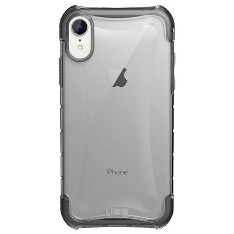 shop clear case grey colour for iphone xr with armor shell from uag australia with afterpay payment & return policy
