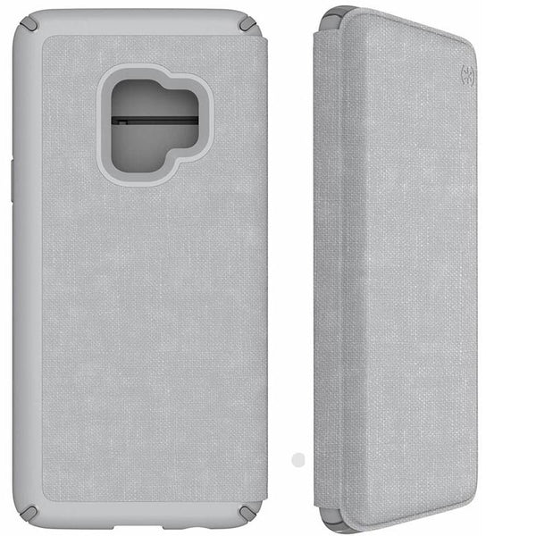 Shop Australia stock SPECK PRESIDIO IMPACTIUM FOLIO CASE FOR GALAXY S9 - HEATHERED GREY/GREY with free shipping online. Shop Speck collections with afterpay