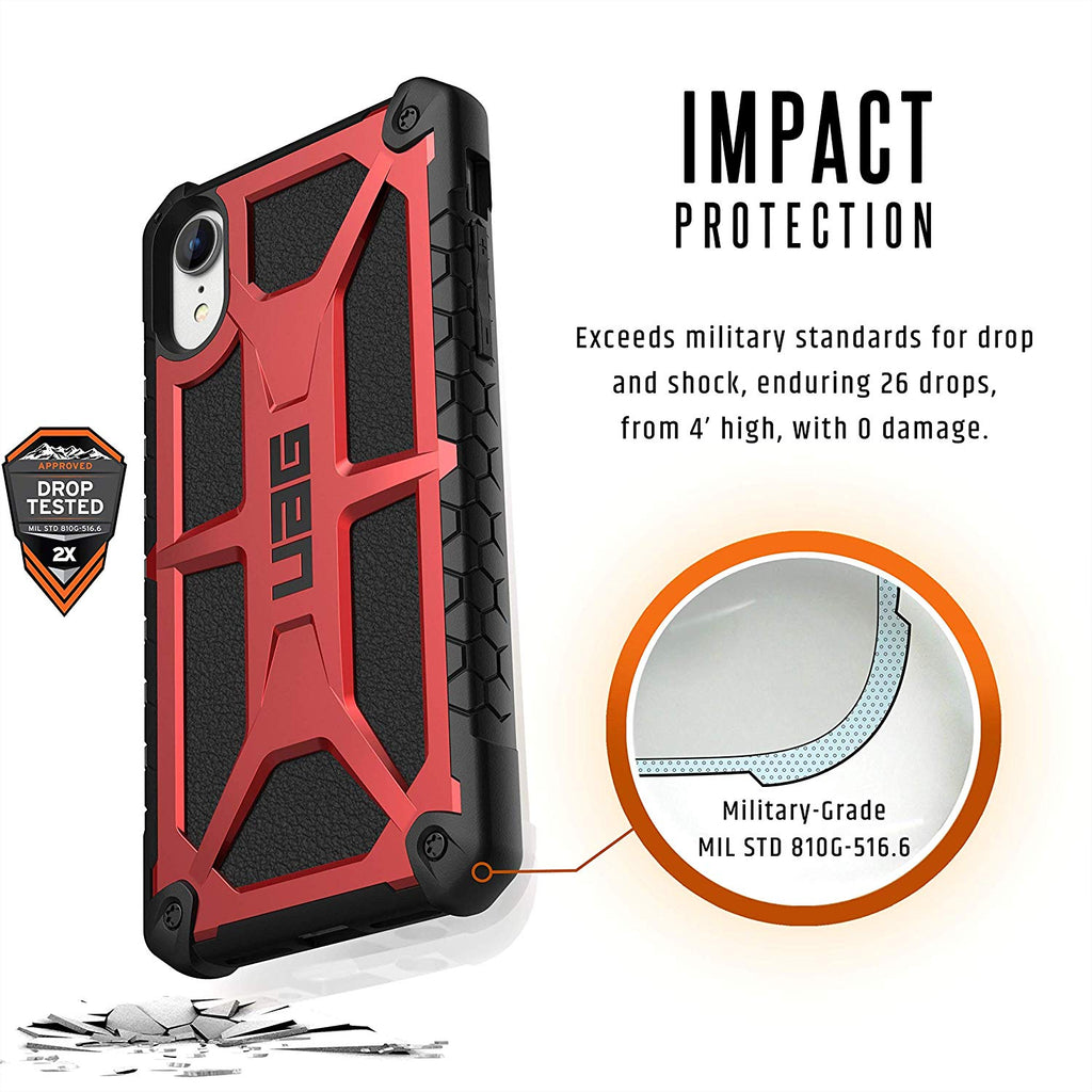 Shop Australia stock UAG MONARCH HANDCRAFTED RUGGED CASE FOR IPHONE XR - CRIMSON with free shipping online. Shop UAG collections with afterpay Australia Stock