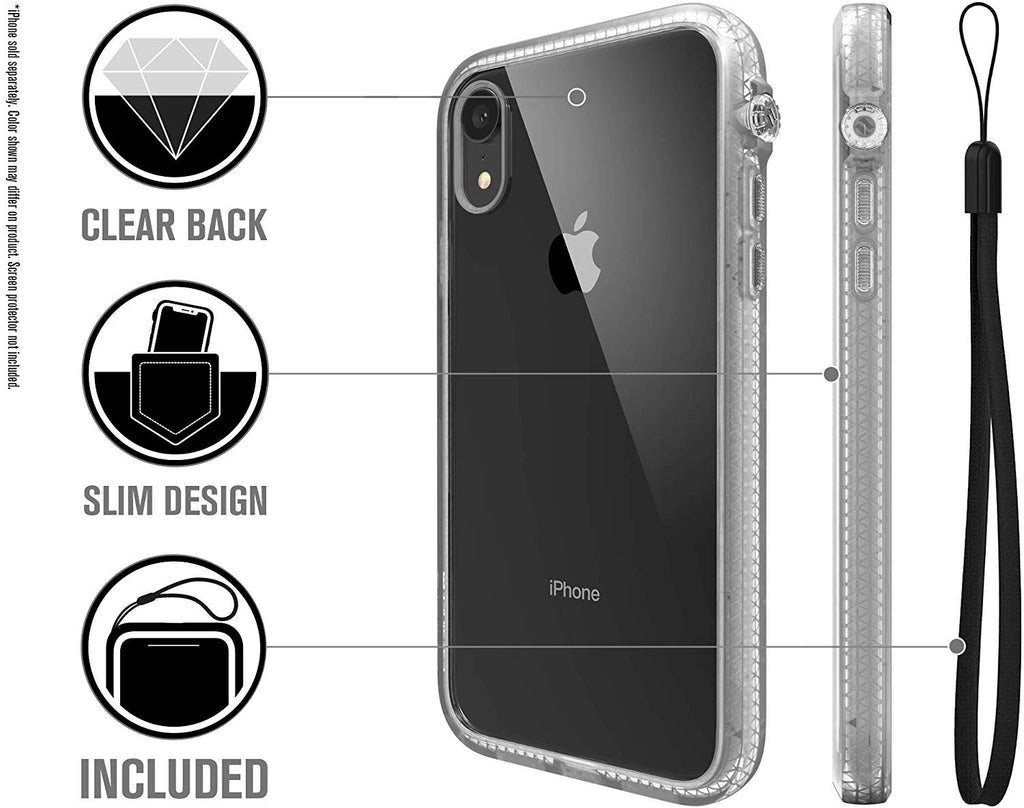 innovative design 54eb4 79a26 CATALYST IMPACT PROTECTION CASE FOR IPHONE XR - CLEAR