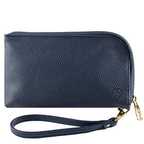 best buy price Chic Buds Clutchette Power Portable Charger Charging Purse for Universal - Navy australia