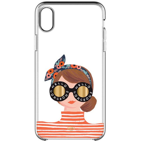 iPhone Xs & iPhone X rifle paper co. case stylish woman style design australia free shipping online