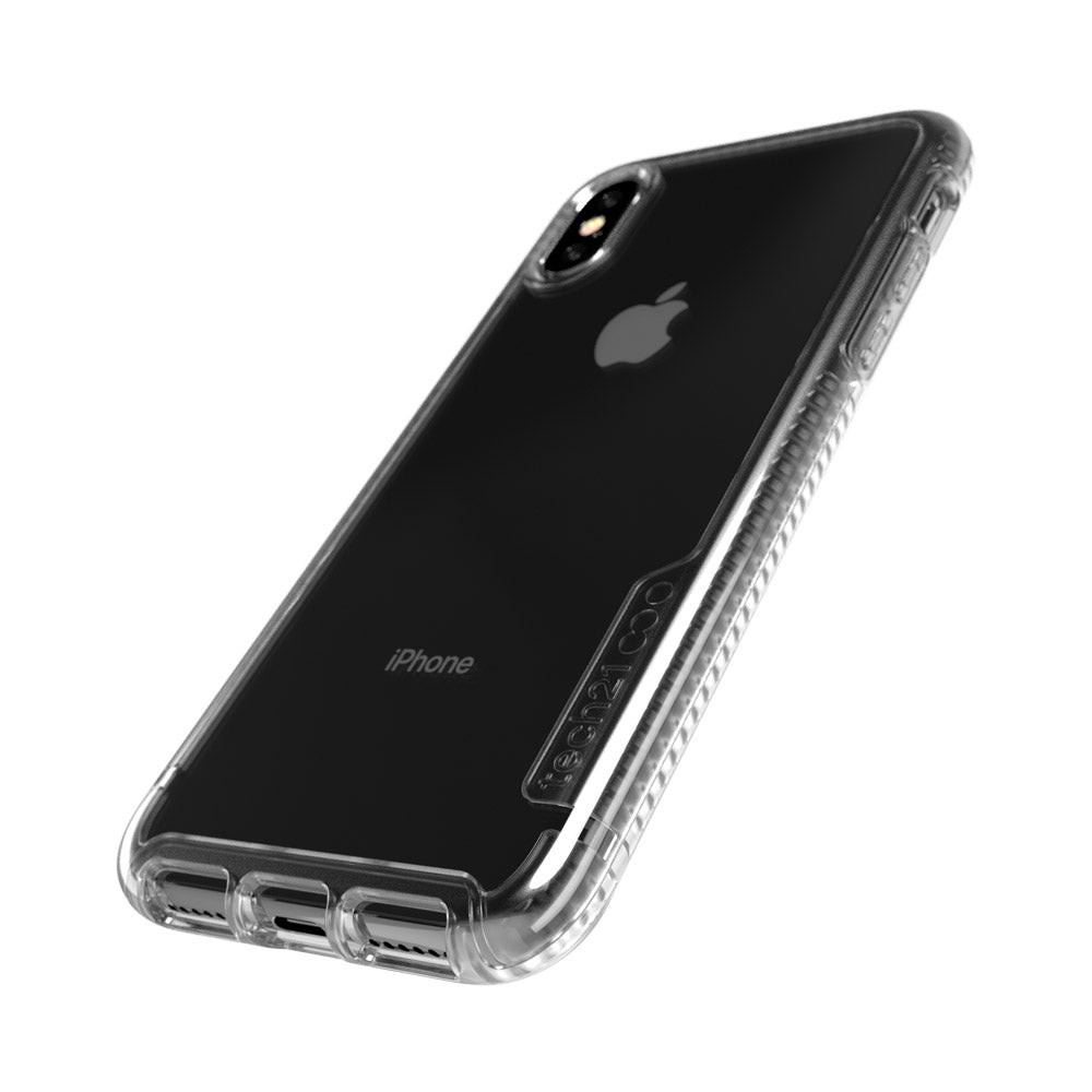 wholesale dealer ee71b 51f48 TECH21 PURE CLEAR BULLETSHIELD CASE FOR IPHONE XS MAX - CRYSTAL CLEAR