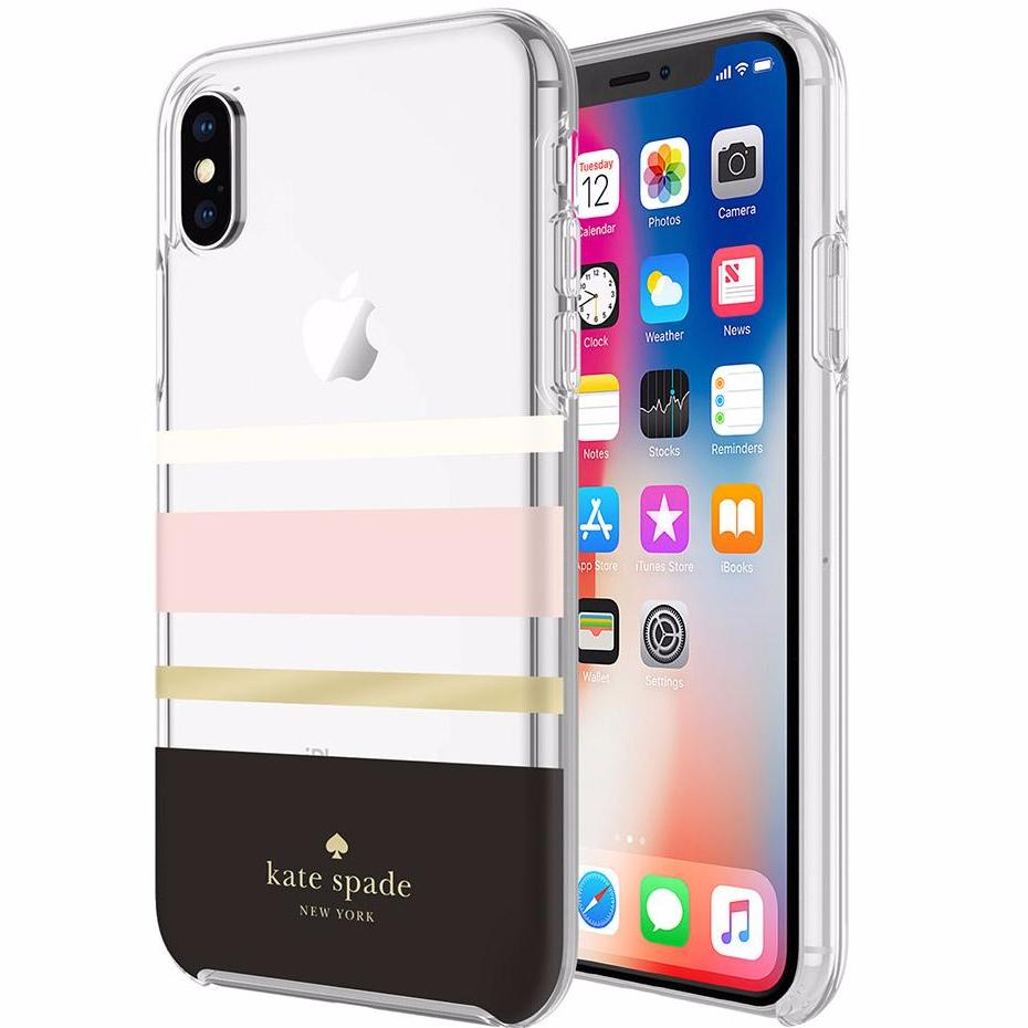 Place to buy from authorized distributor Kate Spade New York Protective Hardshell Case For Iphone X - Charlotte Stripe. Free express shipping australia wide. Australia Stock