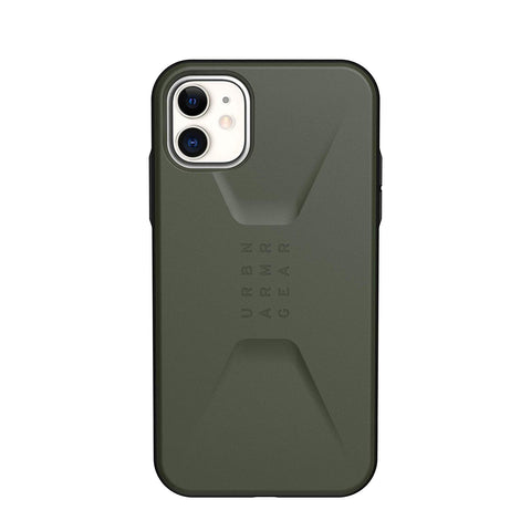 "UAG Civilian HoneyComb Core Case for iPhone 11 (6.1"") - Olive Drab"