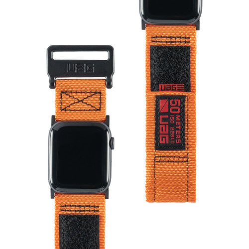 orange straps for apple watch series 1/2/3/4 from uag australia