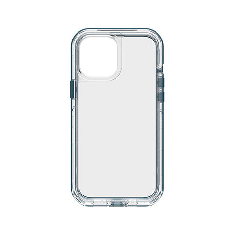back view new blue clear case with drop protection from lifeproof australia for new iphone 12 pro max