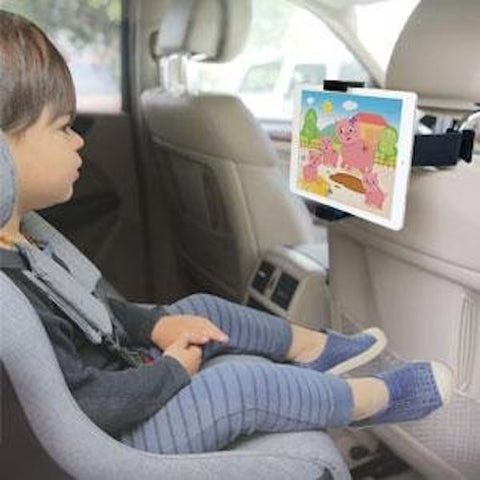 KENU AIRVUE CAR HEADREST TABLET MOUNT FOR iPAD/TABLETS/SURFACE