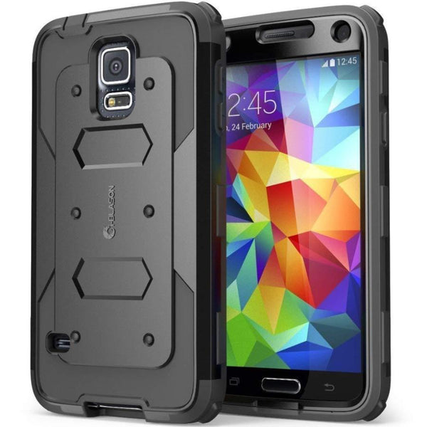 Get the latest  ARMORBOX DUAL LAYER HYBRID FULL-BODY CASE FOR GALAXY S5 - BLACK FROM I-BLASON with free shipping online.