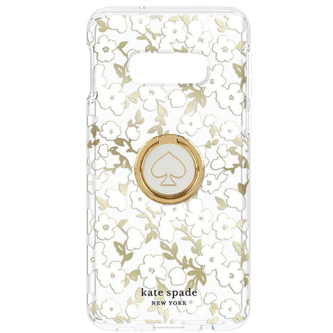 buy online clear case with flower pattern and ring stand from kate spade