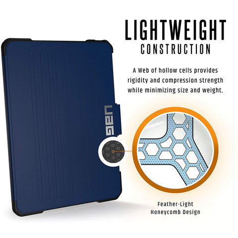 UAG METROPOLIS RUGGED FOLIO CASE FOR IPAD PRO 11-INCH - COBALT