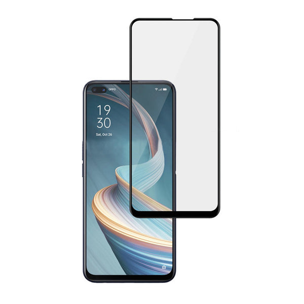 Place to buy online tempered glass for Oppo Reno 4Z 5G with black bumper around screen the authentic accessories with afterpay & Free express shipping.