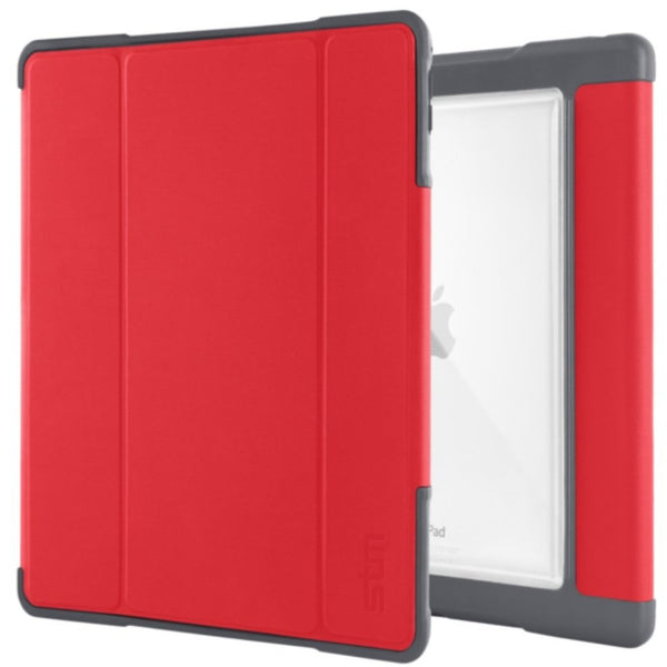 buy online red folio case for ipad 9.7 inch from stm australia