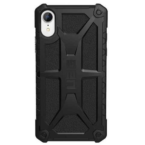 Place to buy MONARCH HANDCRAFTED RUGGED CASE FOR IPHONE XR - BLACK COLOUR FROM UAG online in Australia free shipping & afterpay.